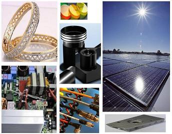 Pulitori digitali per metalli e componenti