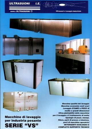 Macchine per il lavaggio di parti meccaniche di precisione