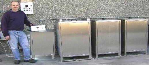 Impianti di lavaggio industriale ad ultrasuoni