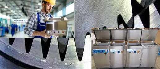 Pulitrici e lavatrici ad ultrasuoni per superfici lavorate nella meccanica