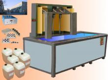 Lavatrici automatizzate per lavaggio a ultrasuoni e detergente